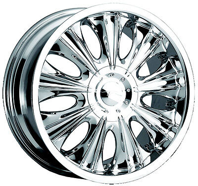 Chrome 18 Inch Cadillac Wheel Vogue Martina Deville Cts Eldorado Sls Sts