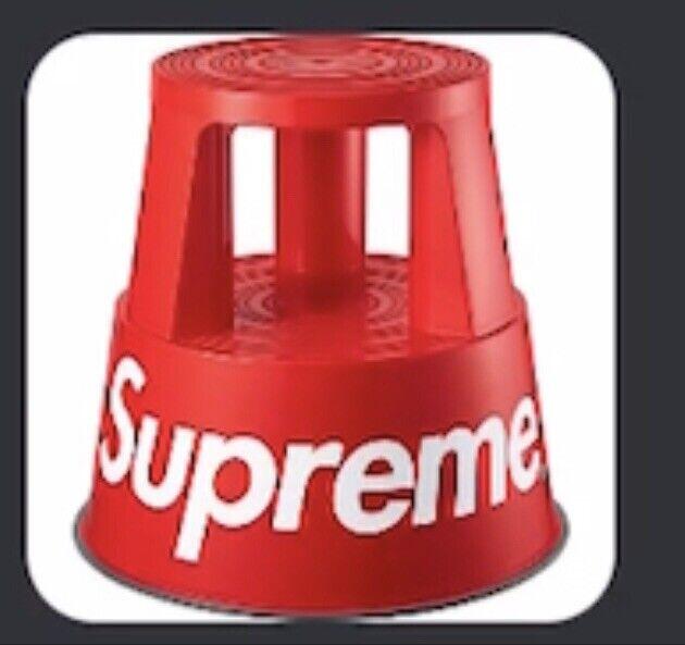Supreme Wedo RED Step Stool (Confirmed Pre order)
