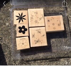 Rubber embossed stamps for stamping and scrapbooking Narangba Caboolture Area Preview