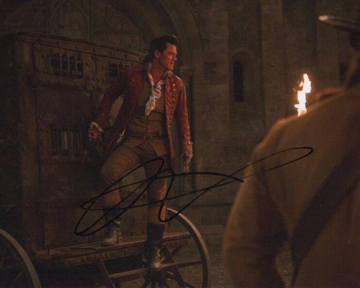 Luke Evans Beauty and the Beast Autographed Signed 8x10 Photo COA #10