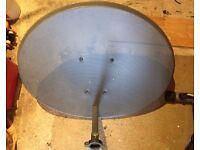 Sky zone 2 satellite dish
