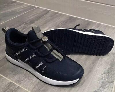 Men's Versace Jeans Low Top Trainers Shoes Size 9 (Eu 42)
