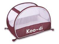 Koodi pop up travel cot- used