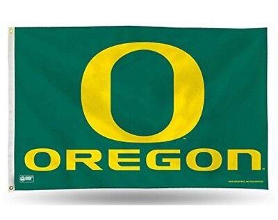 5' Outdoor Indoor Banner (Oregon Ducks Authentic Indoor/Outdoor Flag Banner NCAA Hologram 3x5)