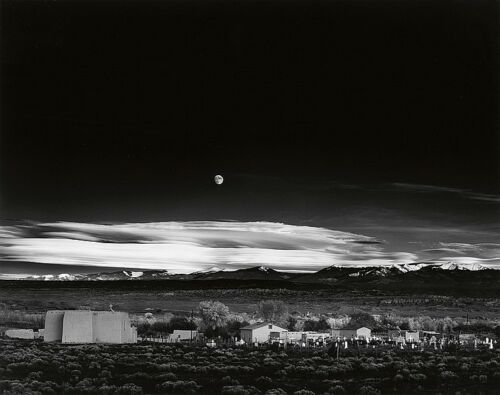 Moonrise, Hernandez, New Mexico