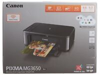 MG3650 cannon printer and scanner/copier