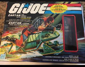 Original 1984 GI Joe Zartan with Swamp skier