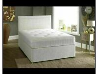 ⭐🆕MODERN NEW LUXURY DIVAN BED BASES IN ALL SIZES & COLORS READY GRAB ONE TILL STOCK LAST