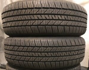 2 used tires Goodyear all season