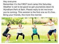 Bootcamp in Wyndham park tomorrow 9am. Anyone in? 💪🏻👊🏻