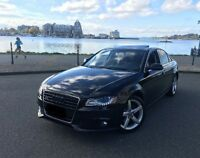 2010 Audi A4 Turbo AWD - Blk/Blk - Just Inspected