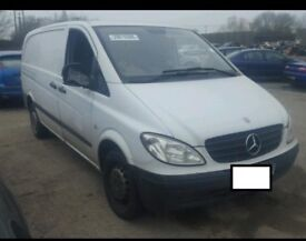 MERCEDES VITO 2.2 CDI DIESEL 2009 BREAKING FOR SPARES AND REPAIRS
