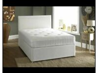 ⭐🆕UNMISSABLE DEAL ON 2 LUXURY DIVAN BED BASES IN SINGLE DOUBLE KING SIZE WITH MATTRESSES OPTION