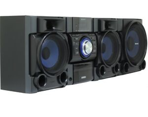Sony Home Stereo MHCEC909iP Mini Hi-Fi Shelf System CD iPod