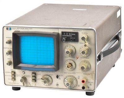 Hp 3580a 5hz-50khz Slow Sweep Low Frequency Digital Storage Spectrum Analyzer