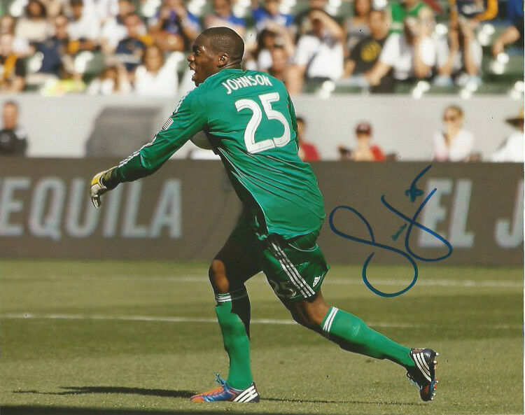 Chicago Fire Sean Johnson Autographed Signed 8x10 MLS Photo COA