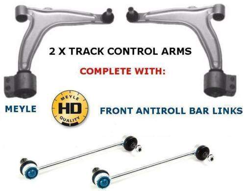 FOR SAAB 9-3 LOWER WISHBONE ARM ARMS 2 FRONT MEYLE HD ANTIROLL BAR LINK PAIR