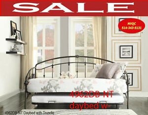 daybed sofas, trundle beds, hall comfort futons, 4962DB-NT