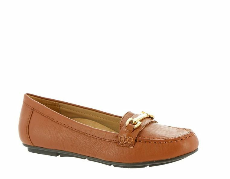 Women's Vionic 'Kenya' Orthaheel Loafer, Size 5 M - Brown