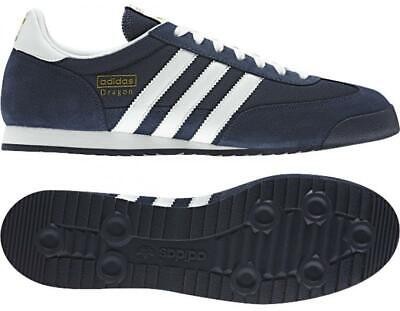 ADIDAS ORIGINALS DRAGON TRAINERS BLUE MENS UK SIZES 7 TO 12