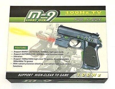 New M-9 Light Gun Controller for the Original Microsoft Xbox (Lighted Controller)