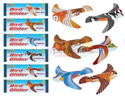 6 Bird Gliders - Styrofoam Planes Pinata Toy Loot/Party Bag Fillers Wedding/Kids - Styrofoam Planes