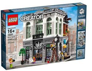 Lego 10251 Creator Expert Brick Bank Set For Sale Online Ebay