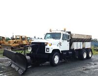 1999 International 2554 Tandem Plow Truck