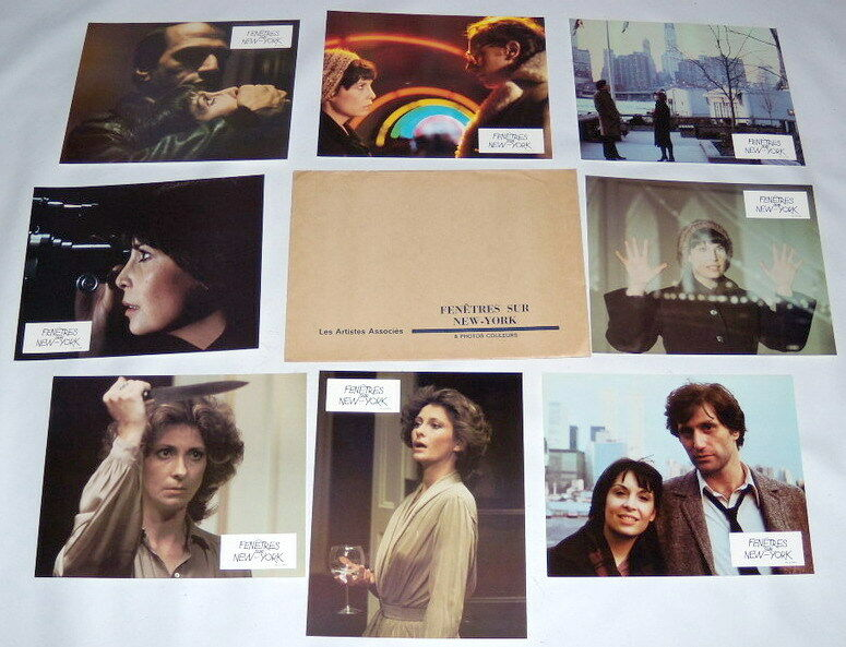 WiNDOWS Talia Shire Joseph Cortese Gordon Willis 8 FRENCH LOBBY CARDs