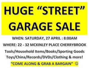 Huge Street Garage Sale