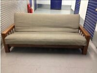 """Lovely Futon Company """"Vienna"""" 3 Seater Sofabed THICK Bi-fold Double Futon Sofa Bed Cost £900 VGC"""