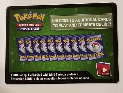 Pokemon League Battle Deck Pikachu & Zekrom PTCGO Code Card
