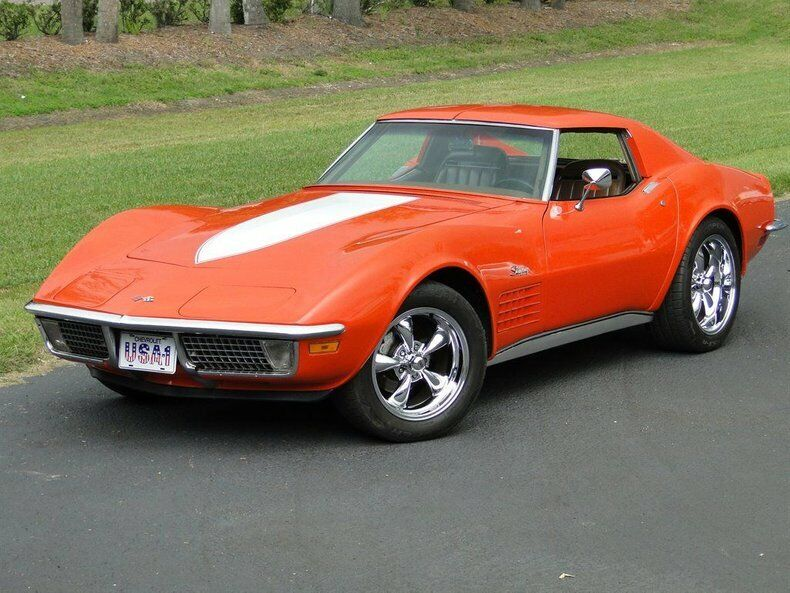1971 Orange Chevrolet Corvette   | C3 Corvette Photo 3