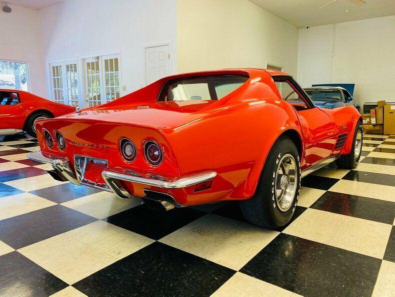 1970 Red Chevrolet Corvette   | C3 Corvette Photo 6