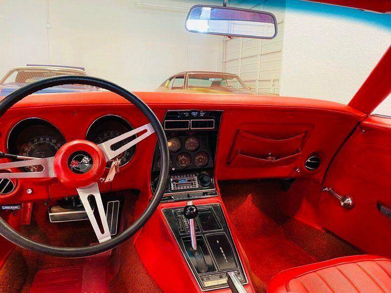1970 Red Chevrolet Corvette   | C3 Corvette Photo 10