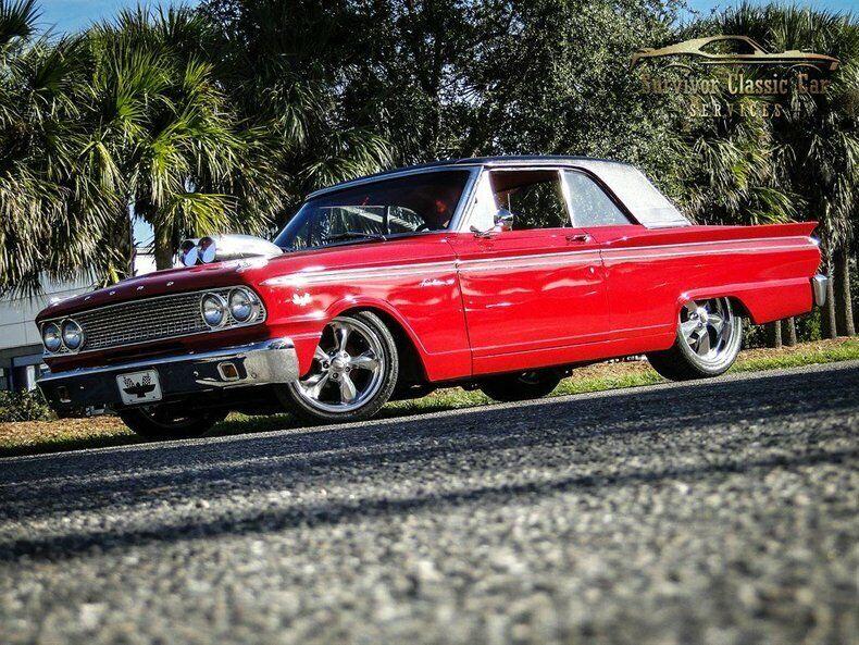 1963 FordFairlane 500RestomodRedSurvivor Classic Car Services LLC