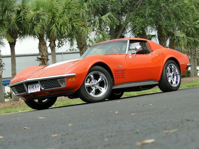 1971 Orange Chevrolet Corvette   | C3 Corvette Photo 1