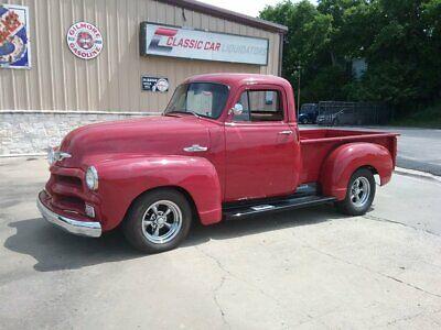 1955 Chevrolet Other Pickups  1955 Chevrolet 3100  52051 Miles Burgandy Pickup Truck 350 Chevrolet V8 Turbo 35