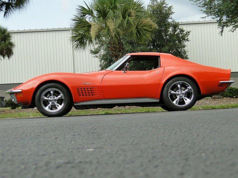 1971 Orange Chevrolet Corvette   | C3 Corvette Photo 6