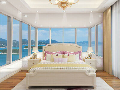 View Terrace - 3D Terrace Sea View Self-adhesive Kid's Room Wallpaper Wall Murals Photo Decor