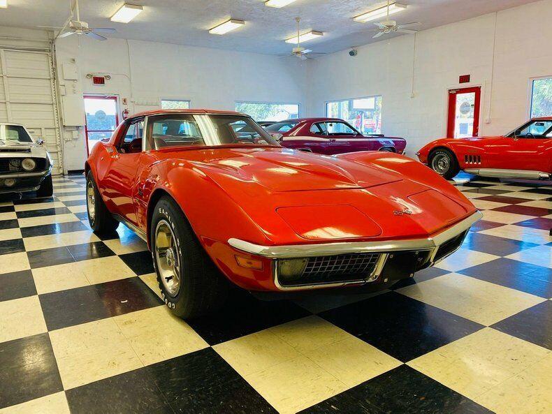 1970 Red Chevrolet Corvette   | C3 Corvette Photo 7