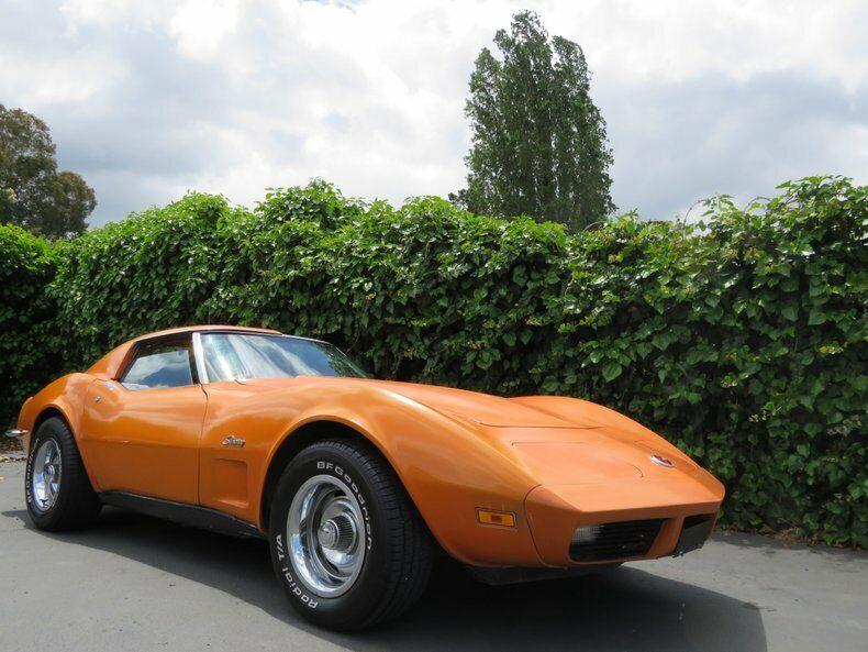 1973 Orange Chevrolet Corvette   | C3 Corvette Photo 2