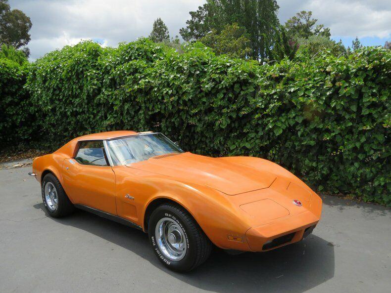 1973 Orange Chevrolet Corvette   | C3 Corvette Photo 3