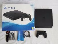 PlayStation 4 PS4 500GB Black Slim Console, BRAND NEW UN OPENED