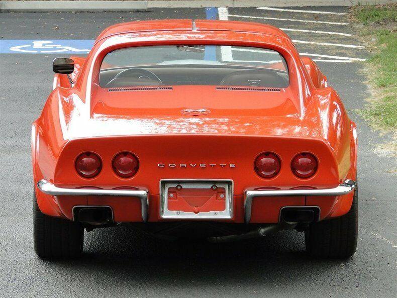 1971 Orange Chevrolet Corvette   | C3 Corvette Photo 10