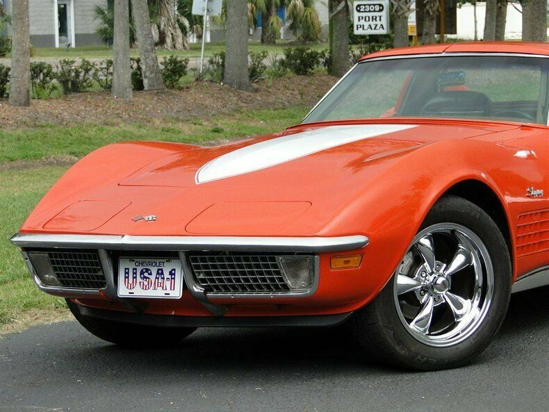 1971 Orange Chevrolet Corvette   | C3 Corvette Photo 4