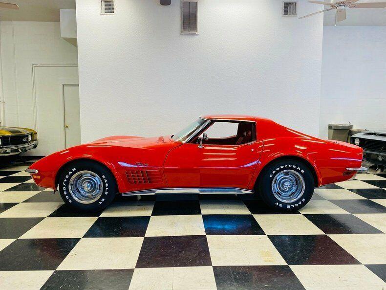 1970 Red Chevrolet Corvette   | C3 Corvette Photo 2