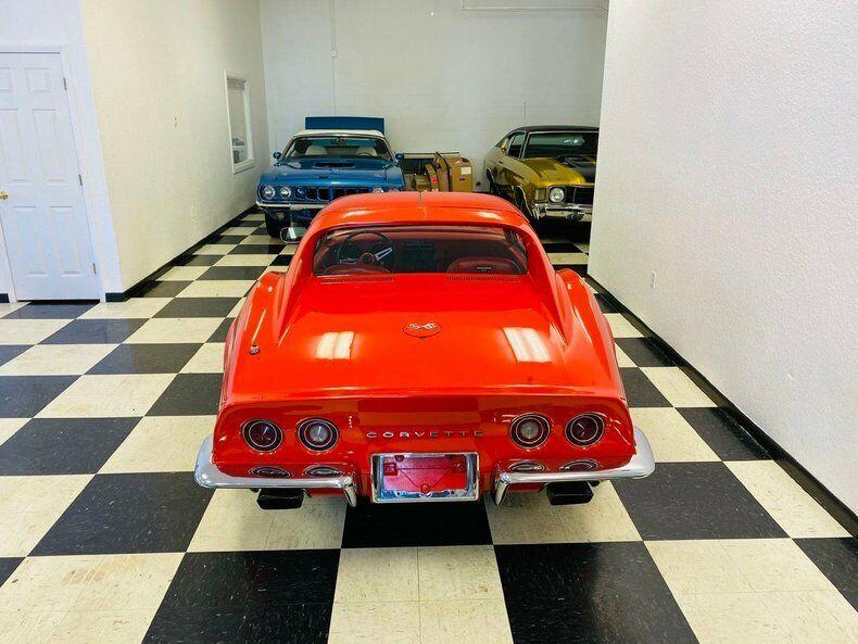 1970 Red Chevrolet Corvette   | C3 Corvette Photo 5