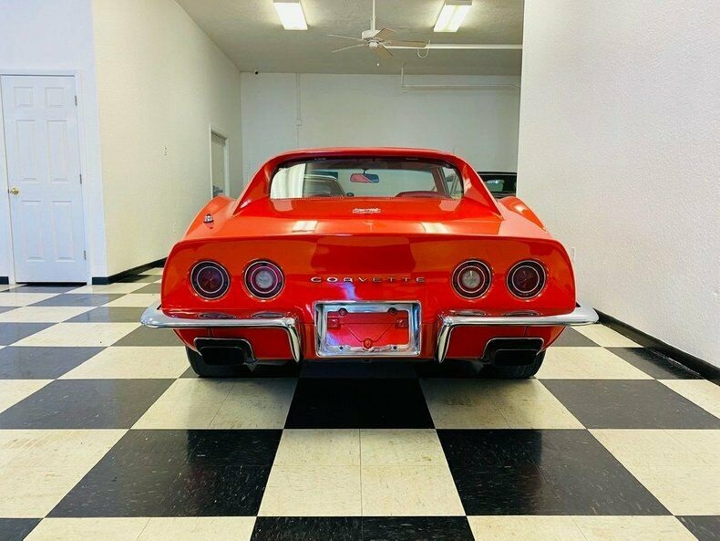 1970 Red Chevrolet Corvette   | C3 Corvette Photo 4
