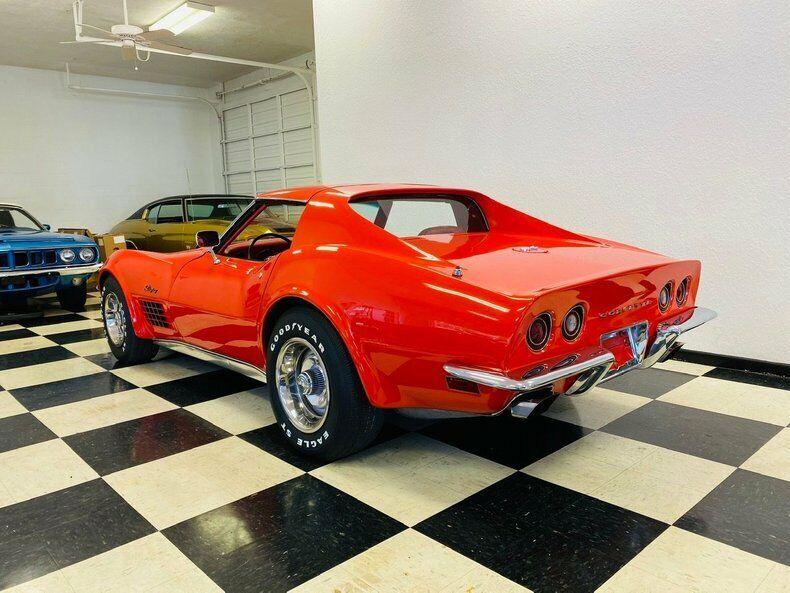 1970 Red Chevrolet Corvette   | C3 Corvette Photo 3